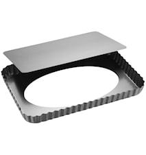 Sølvtop Tærteform 32x22cm Sølv