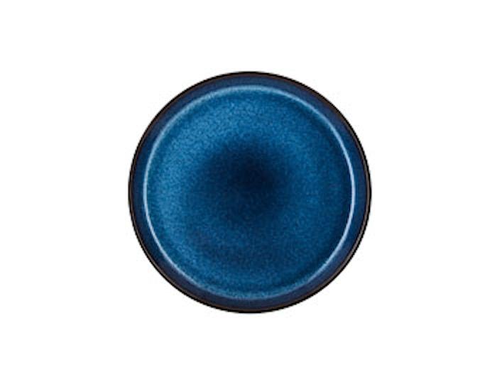 Gastro Tallrik Ø 21 cm Svart/Mörkblå