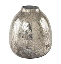 Vas Rusted Glas Silver 13cm