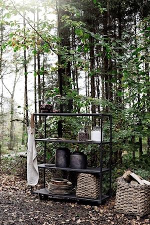 Kruka med lock Hazel Brun Terracotta 24x25cm