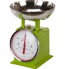 Kjøkkenvekt Eplegrønn