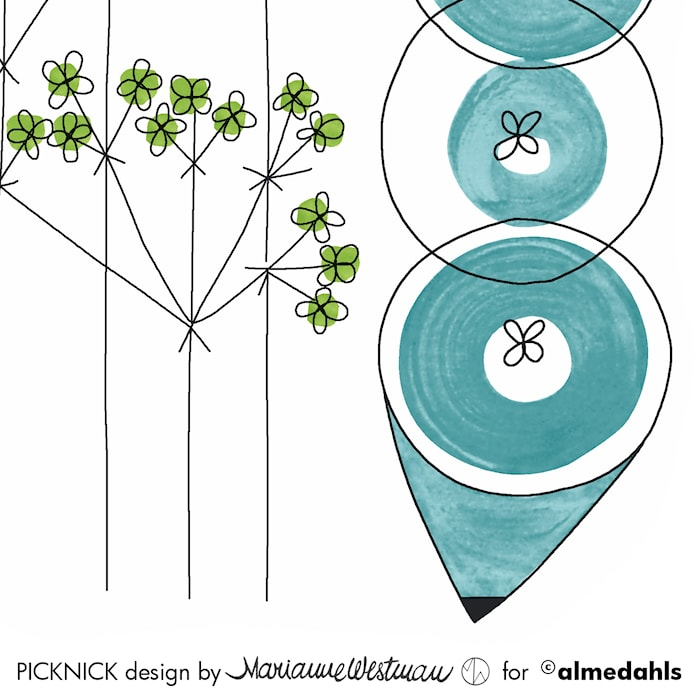Picknick Servetit 12-pakkaus