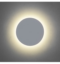 Eclipse Round 250 vägglampa – Varmt ljus