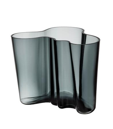 Aalto vas 16cm mörkgrå