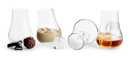 Club Avec glas med rundad botten 15cl 4-pack