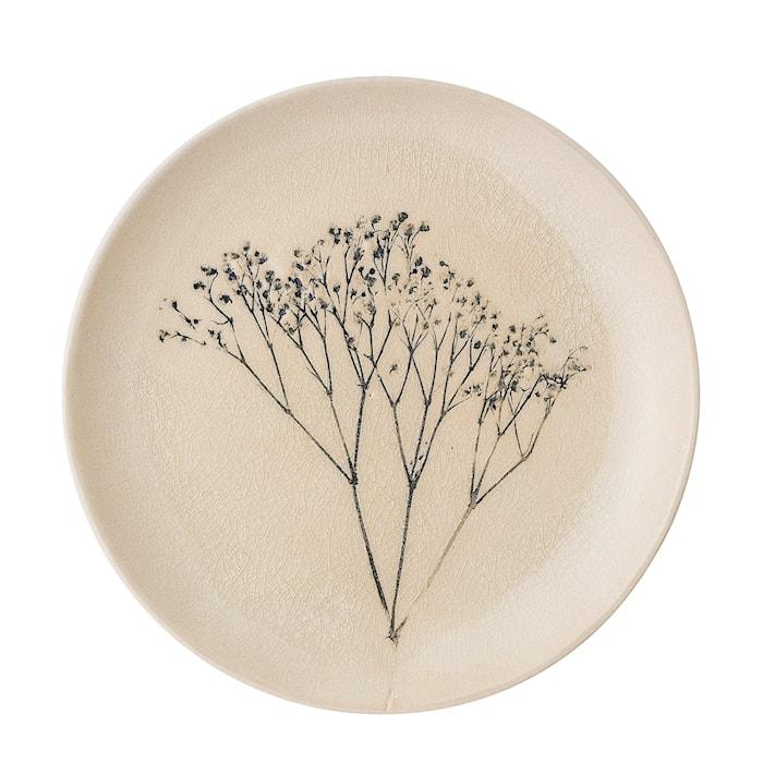Bea Tallrik Nature Stengods 22 cm