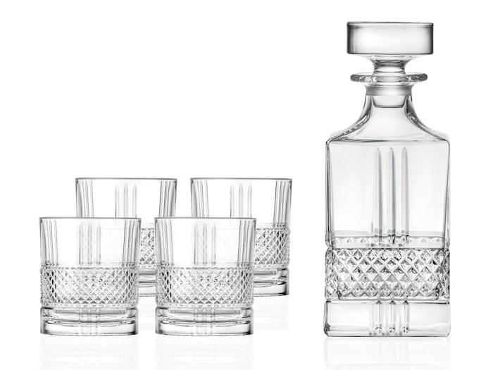 Whiskyset Brillante 5 delar