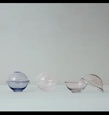 Chapeau Makeiskulho Suupuhallettu lasi Kirkas Ø12,5 cm