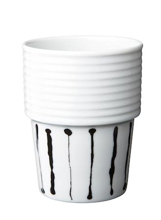 Filippa K Kahvi-/teemuki 2pack 31 cl Ink Stripe
