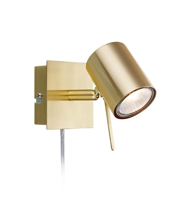 Hyssna LED Vägglampa Mässing