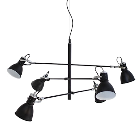 Pigalle Taglampe 6-arms