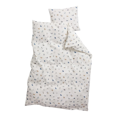 Junior Sängkläder 100x140 cm Forrest Dusty Blue