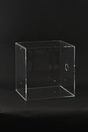 Vägglåda Plexi 30x25x30 cm - Klar