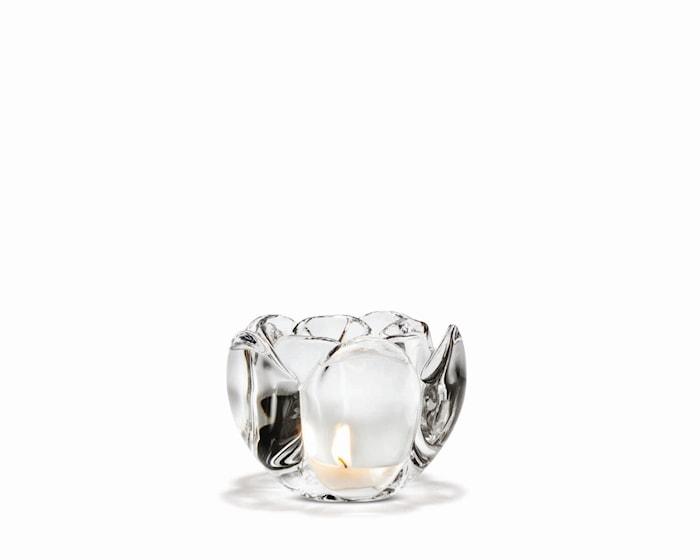 Lotus Lyslykt, klar, H 9 cm