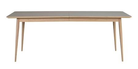 Dawsone Spisebord Grå/Hvitpigmentert eik 200x90 cm