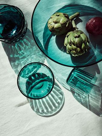 Raami Dricksglas Havsblå 26 cl 2-pack