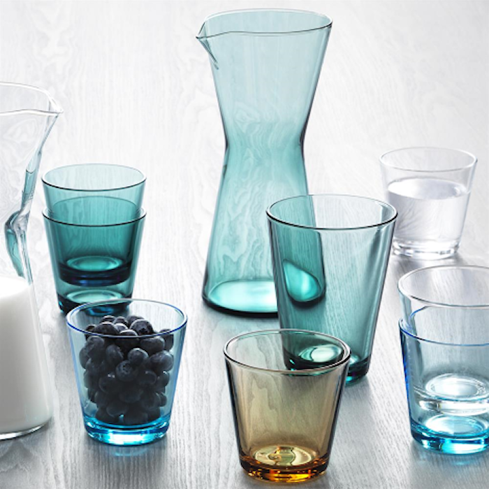 Kartio Glas Wassergrün 21 cl 2er-Pack