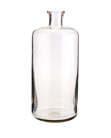 Glasflaska Ø 10 cm – Klar