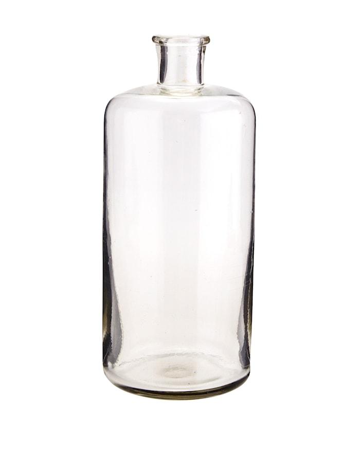 Glasflaska Ø 10 cm - Klar