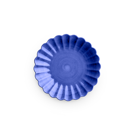 Oyster Tallrik Blå 20 cm