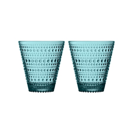 Kastehelmi Glas 30 cl Meerblau 2 Stk