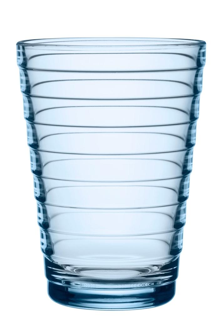 Aino Aalto Glass Aqua 33 cl 2 stk.