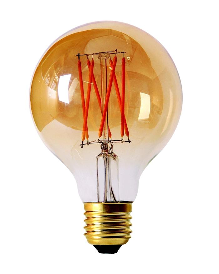 Elect LED Filament Globe Gold 80 mm