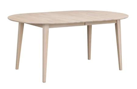 Filippa Matbord Ovalt Vitpigmenterad Ek 170 cm