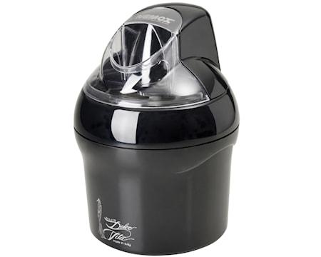 Dolce Vita Glassmaskin 1,5L svart