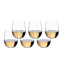 O Wine Viognier/Chardonnay, 6-pakkaus