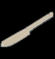 Smørkniv Metall Beige