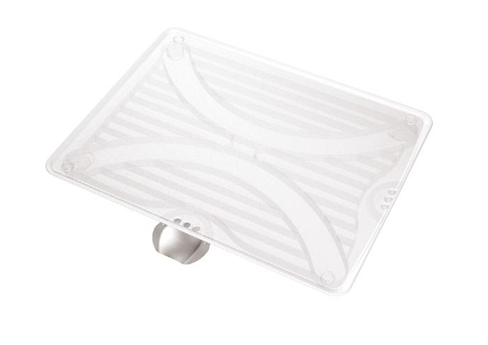 Dryppebakke Dobbelrettet med Stålpipe