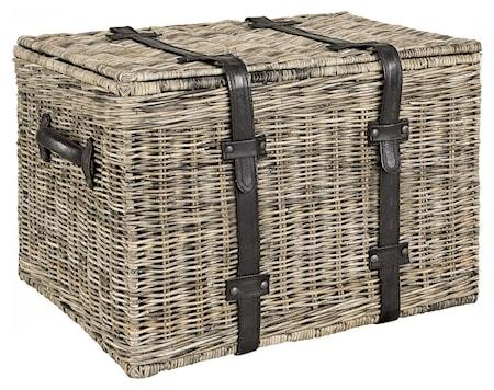 Rect Storage Basket - Grey Lacak