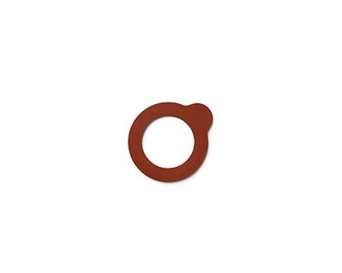 Lock-eat gummiring till karaff orange - 6,7 cm