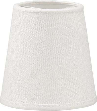Queen Lampskärm Franza Vit 10cm