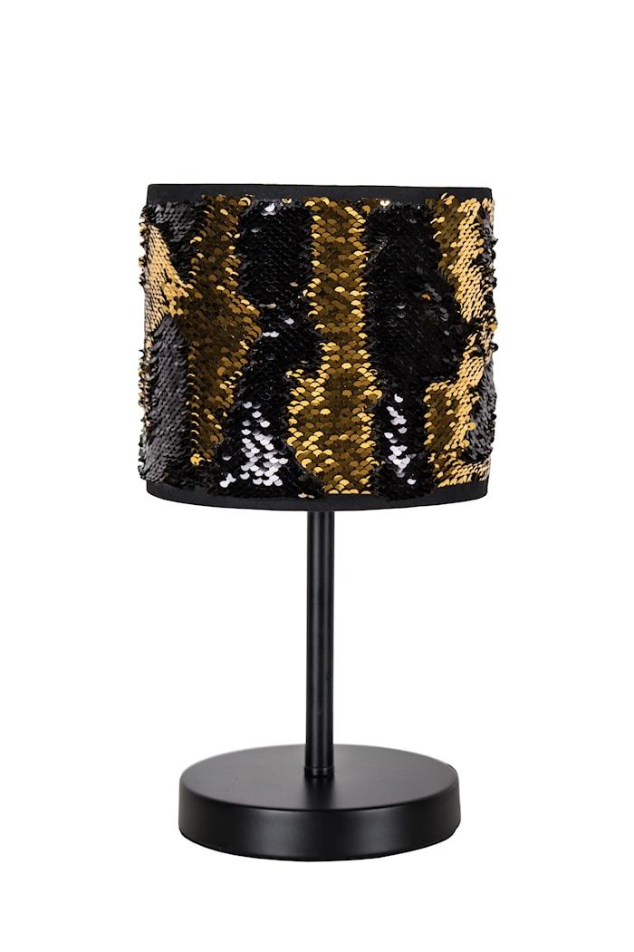 Bordlampe Bling - Gull/svart