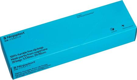 Zip-pussit Fossiilivapaat 3.5 litraa 20-pack