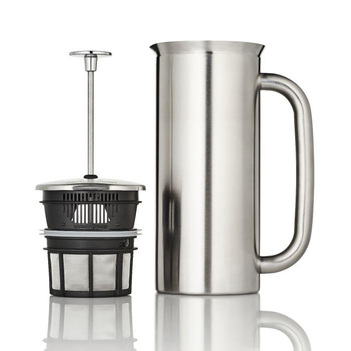 Espro P7 Presskanna 8 koppar borstat stål termo kaffe