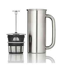 Espro P7 Presskanne 8 Tassen, gebürsteter Stahl, Thermo, Kaffee