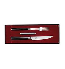 Classic Set Kniv & Gaffel 3 delar
