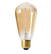 Elect LED 3-Step dim Edison Gold 64mm