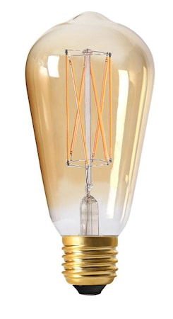 Elect LED 3-Step dim Edison Gold 64mm