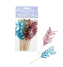 Party Drink Stirrers 12-pack Pink/Mint/Gold