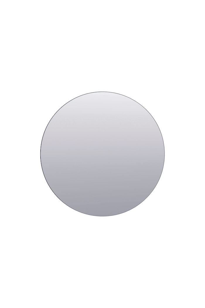 Mirror spejl Ø 80 cm - Grå