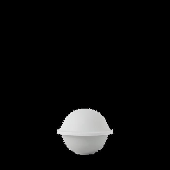 Chapeau Makeiskulho Posliini Valkoinen Ø12,5 cm