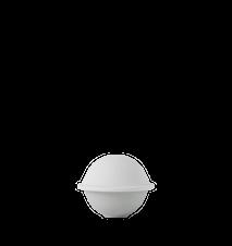 Chapeau Bonbonjär Porslin Vit Ø12,5 cm