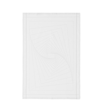 Illusion Viskestykke Hvid