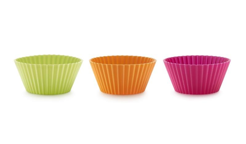 Muffinsform Liten 12st Silikon Flerfärgad