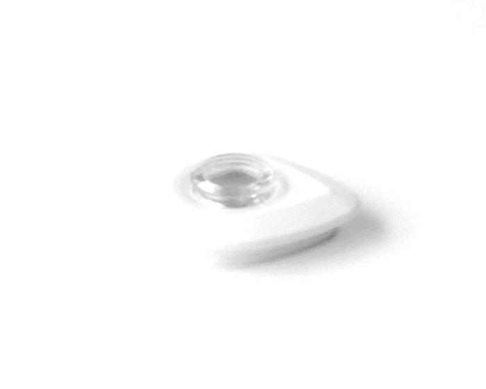 Kansi ja suoja valkoinen/kirkas, malliin A