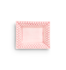 Bubbles Pieni Tarjotin Vaaleanpunainen 16x20 cm